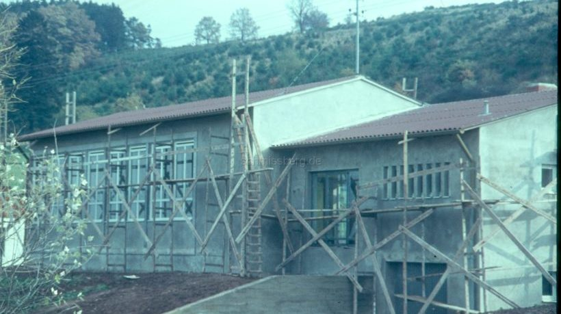 Der Bau des Schmißberger Gemeinschaftshaus 1966