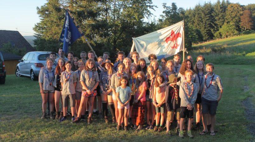 40 Pfadfinder besuchen Schmissberg