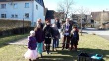 Fastnacht in Schmißberg: 186 Eier bei Dorfrundgang gesammelt
