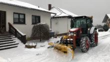 Der Winter hat Schmissberg im Griff