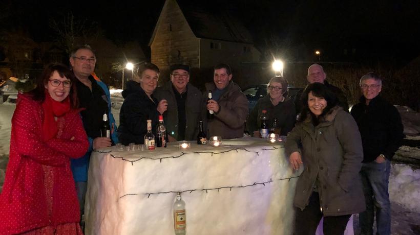 Eisbar-Party am Schlachthaus