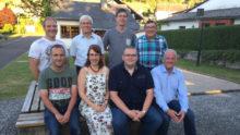 Der neue Schmißberger Rat und Ortsbürgermeister
