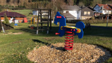 Der Spielplatz in Schmißberg